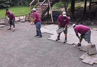 New Construction Landscaping Commerce MI | Squeals Landscaping - new-construction-hardscape(1)