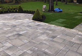 New Construction Landscaping Commerce MI | Squeals Landscaping - new-construction-hardscape-2